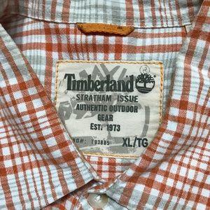 Men's Timberland Shirt Sleeve Casual Shirt XL